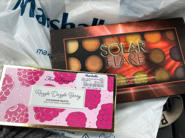 Too Faced Razzle Dazzle Eye Shadow Palette at Marshalls